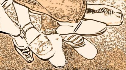 Der Tausendfüssler - Verknotete Füsse