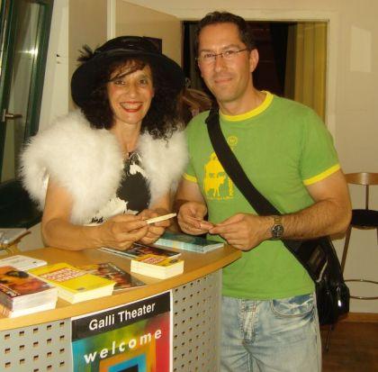 Marion Martinez und Jens Böhme