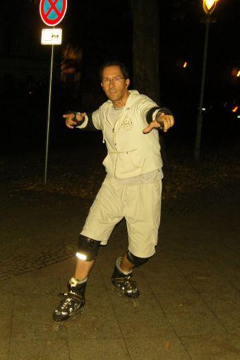 Jens Böhme - Zwei Füße auf Skates