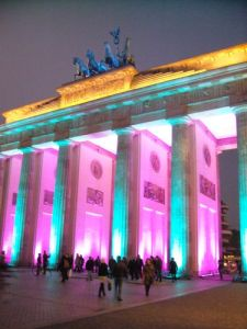 Illumination Brandenburger Tor