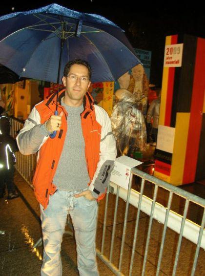 Ich war dabei - 20 Jahre Mauerfall - Jubiläum in Berlin