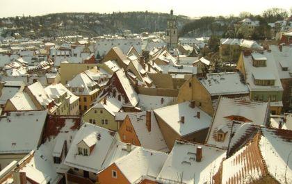 Über den Dächern der Meißner Altstadt