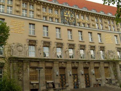 Ein Besuch in Leipzig - Deutsche Bücherei Leipzig