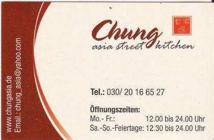 Visitenkarte Vorderseite - chungasia.de