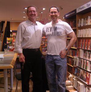 Martin Walker und Jens Böhme