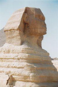 Ägyptische Sphinx von Gizeh
