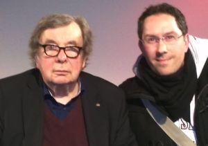 Hellmuth Karasek und Jens Böhme