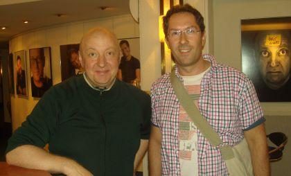Foto mit Horst Evers und Jens Böhme