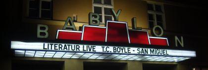 San Miguel Kino Babylon Lesung mit T.C.Boyle