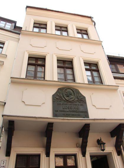 Frontansicht - Lessinghaus in Berlin Nikolaiviertel