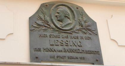 Lessings Haus in Berlin Nikolaiviertel Minna von Barnhelm
