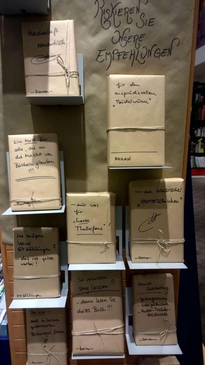 Riskieren Sie eine Empfehlung in der Thalia Buchhandlung Alexa