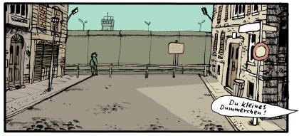 Berliner Mauer - Szene aus mawils Kinderland