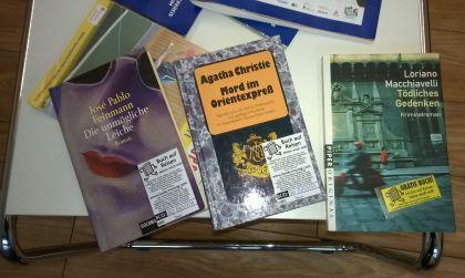 drei bücher für Bookcrossing
