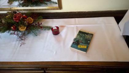 Bookcrossing mit Loriano Macchiavelli Tödliche Gedenken Schlosshotel Groß Plasten