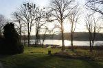 Schlosshotel Groß Plasten Blick auf den Kleinplaster See