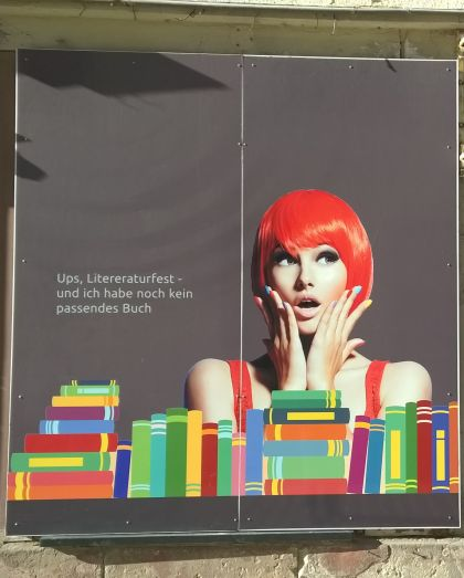 Ups, Literaturfest - und ich habe noch kein passendes Buch